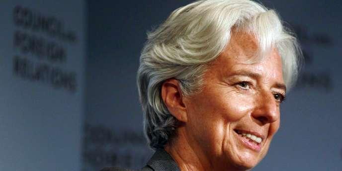 Christine Lagarde à New York, le 26 juillet 2011.