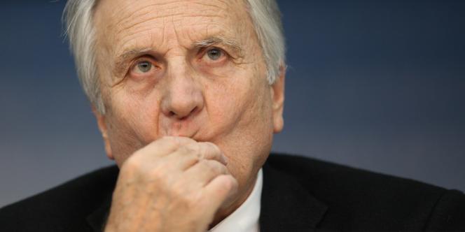 Jean-Claude Trichet, jeudi 4 août, au siège de la Banque centrale européenne, à Francfort.