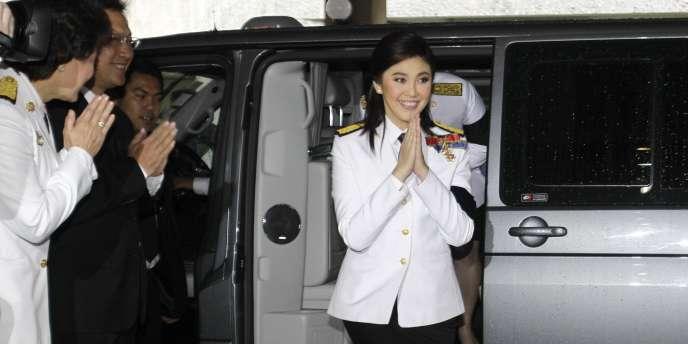 Yingluck Shinawatra a été élue Premier ministre en Thaïlande.