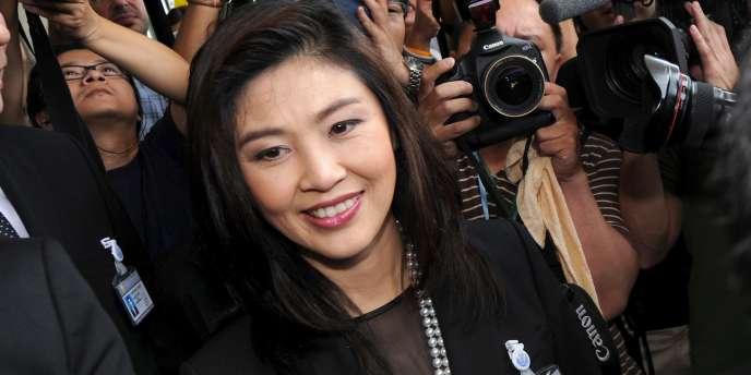 Yingluck Shinawatra a été désignée première ministre de Thaïlande, vendredi 5 août.