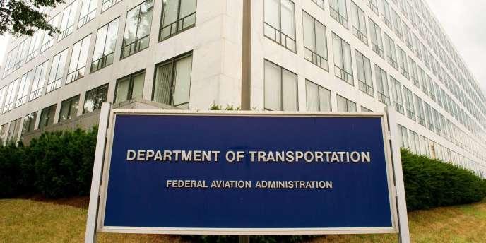 Les bureaux de l'administration de l'aviation civile américaine (FAA), à Washington, le 4 août 2011.