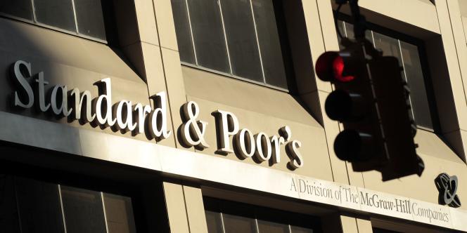 Le bâtiment de Standard & Poor's à New York.