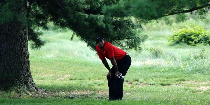 Tiger Woods a pris la 37e place à Akron.