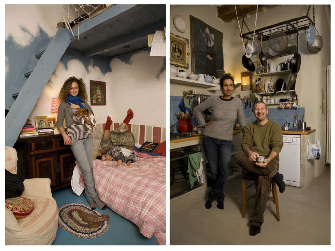 Riccardo et Neila habitent avec leur enfants Gricha (12 ans) et Crespin (9 ans)dans une ancienne ferme entourée de vignes et oliviers en Toscane. La cuisine est le royaume de Riccardo.