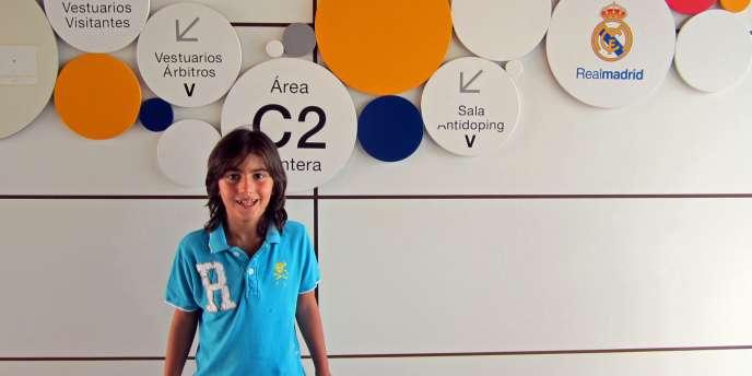 Leonel Angel Coira, 7 ans, nouvelle recrue du Real Madrid.