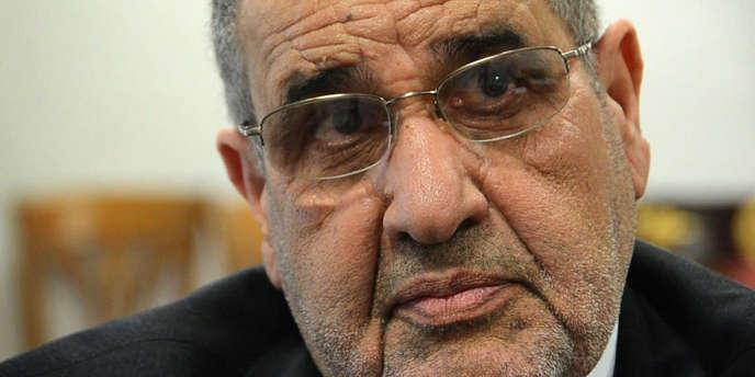 Mansour Saif Al-Nasr, représentant du CNT libyen.