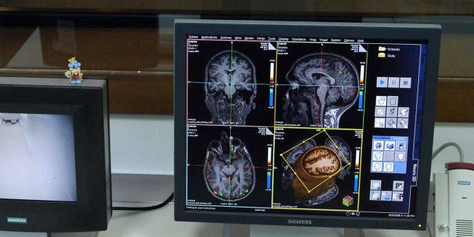 La chercheuse Tetiana Aksenova a mis au point l'algorithme capable de détecter, au sein de l'activité cérébrale, l'infime variation correspondant à une intention de mouvement et d'en déduire un ordre.