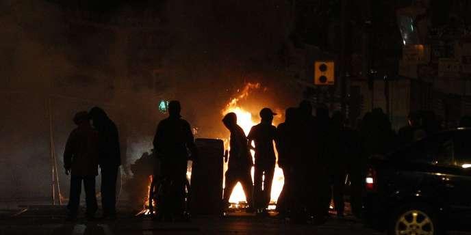 Des émeutes à Liverpool, le 9 août.