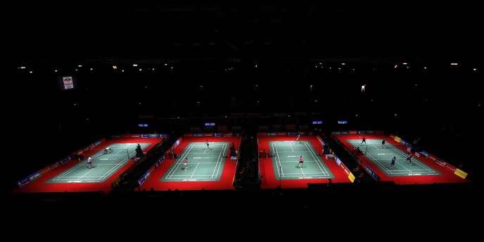 La Wembley Arena accueille actuellement les mondiaux de badminton avant de recevoir l'année prochaine les épreuves olmypiques.