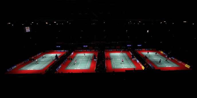 Depuis lundi, les mondiaux de badminton se déroulent à Londres, théâtre d'émeutes urbaines comme d'autres villes du pays.