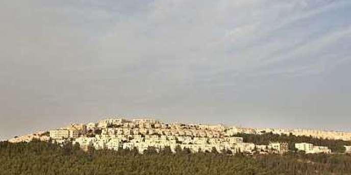 La colonie juive de Ramat Shlomo.