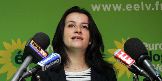 Cécile Duflot à Paris en mars 2011.