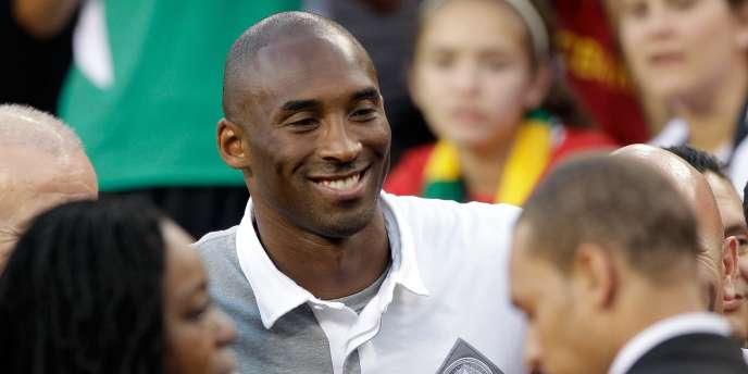Kobe Bryant, le 30 juillet à Landover, aux Etats-Unis.