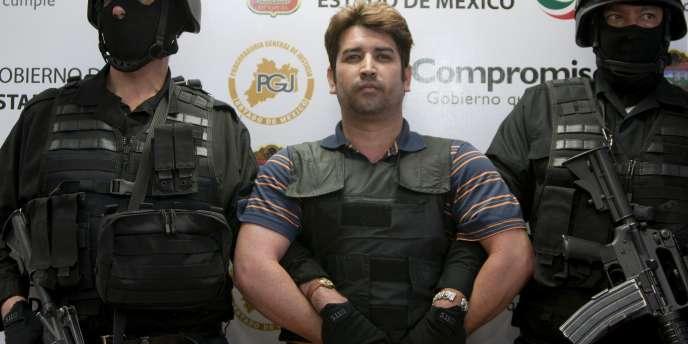 Montoya, alias El Compayito, lors de son arrestation.