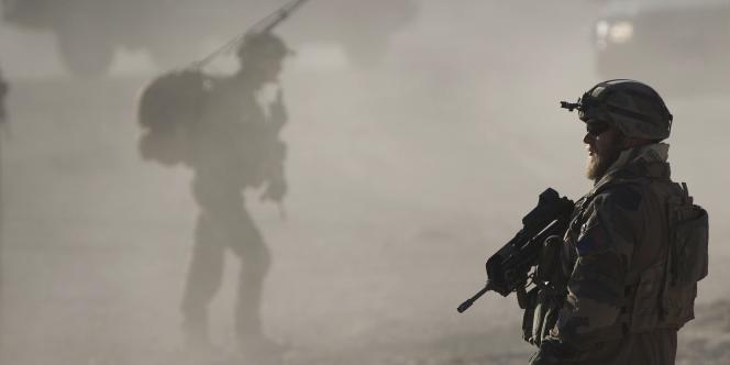 Un soldat de la légion étrangère dans la province de Kapisa.