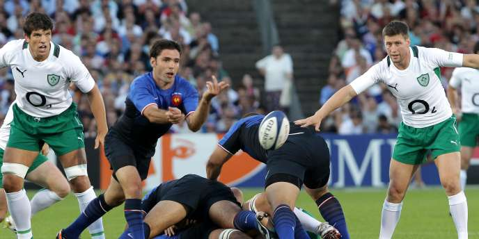 Dimitri Yachvili et le XV de France se sont imposés samedi à Bordeaux face à l'Irlande (19-12).