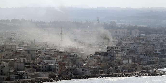 Le port de Lattaquié, en Syrie, le 14 août 2011.