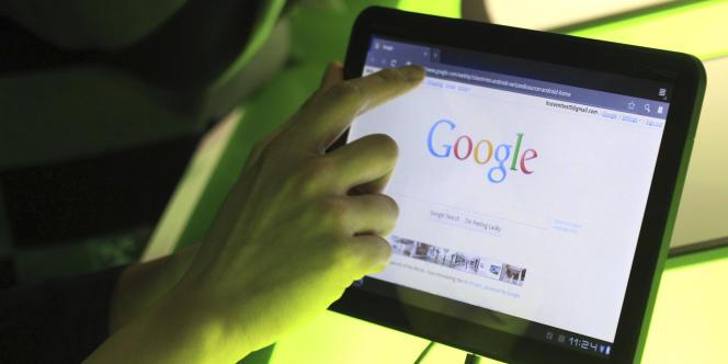La tablette Xoom, conçue par Motorola.