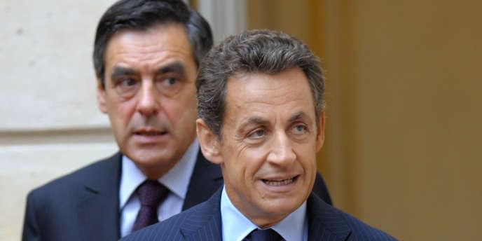 Nicolas Sarkozy et François Fillon.
