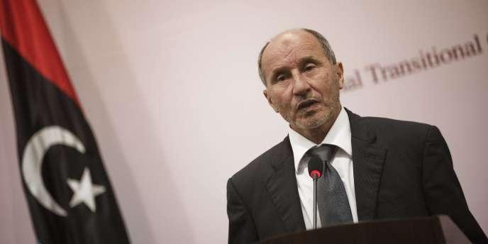 Moustapha Abdeljalil, l'ancien président du Conseil national de transition libyen, le 6 août 2011.