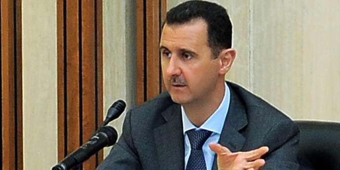 Bachar Al-Assad, le 17 août à Damas.