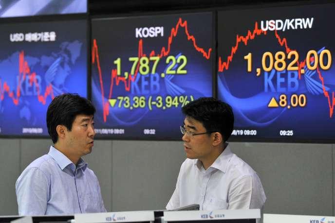 Séoul a inauguré le 1er juillet le Konex, son troisième marché financier après le Kospi et le Kosdaq.