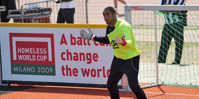 La Coupe du monde des sans-abri se déroule à Paris du 21 au 28 août.