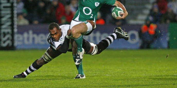Leone Nakarawa disputera la Coupe du monde 2011 de rugby.