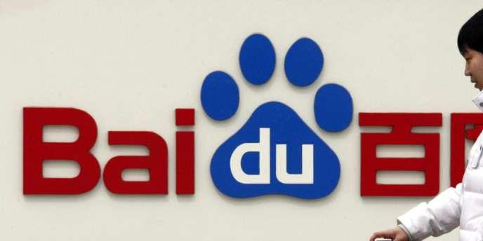 En Chine, 80 % des requêtes effectuées sur Internet le sont sur le site blanc marqué de rouge et de bleu de Baidu.