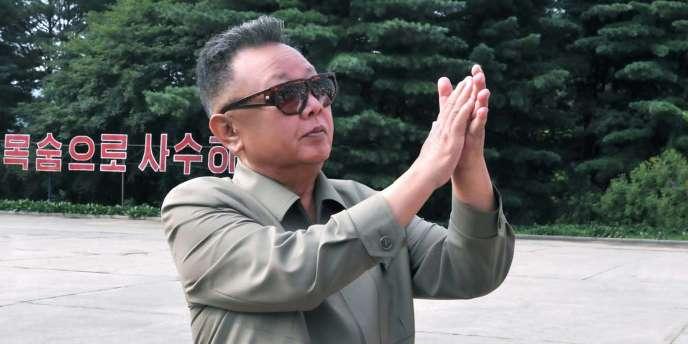 Le dirigeant nord-coréen Kim Jong-il, âgé de 69 ans,