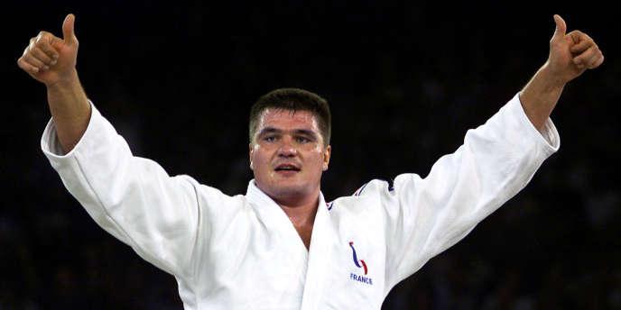 David Douillet, ici en septembre 2000.