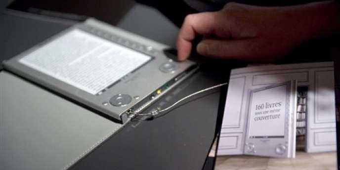 Les Français n'ont dépensé en 2012 que 21 millions d'euros dans des e-books, soit 0,6 % du chiffre d'affaires du secteur, selon l'institut GfK.