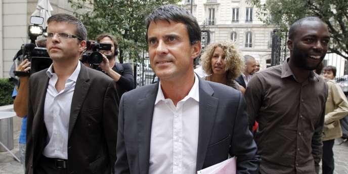 Manuel Valls, le 22 août à Paris.