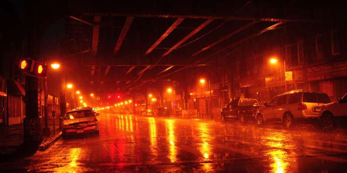 Dans le quartier de Brooklyn, dans la nuit du 27 au 28 août.