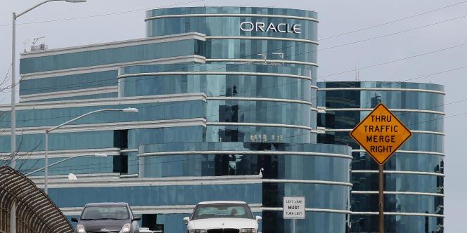 Le siège de l'éditeur de logiciels Oracle, à Redwood Shores, en Californie.