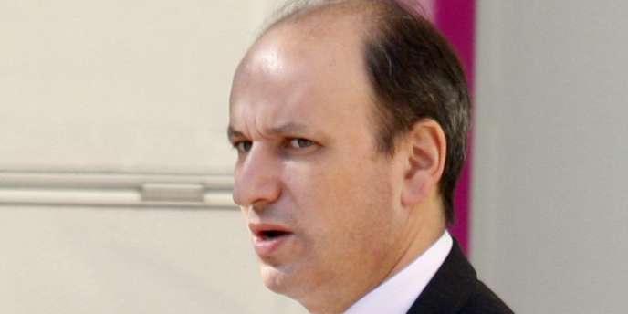 Photo prise le 21 septembre 2010 à Paris de David Sénat, l'ancien conseiller de Michèle Alliot-Marie.