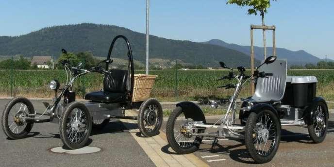 L'ORA est un quadricycle équipé de batteries au lithium.
