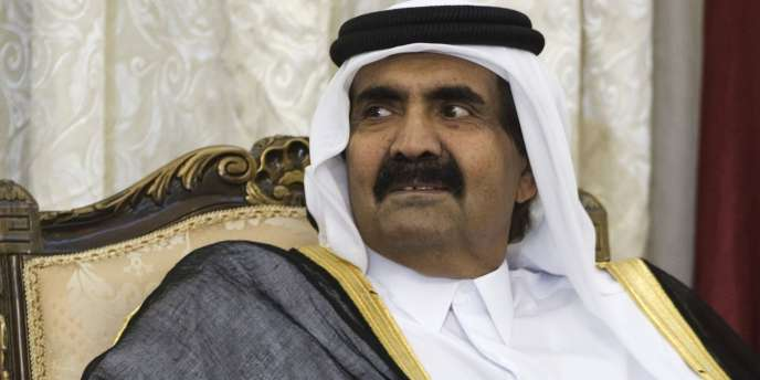 Le cheikh Hamed Ben Khalifa Al-Thani.
