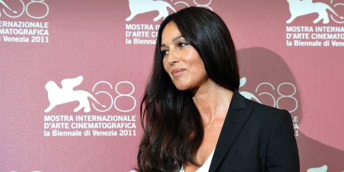 L'actrice Monica Bellucci à la 68e Mostra de Venise, le 2 septembre 2011.