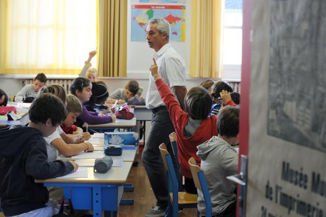 Dans une école de Nantes, en septembre 2011.