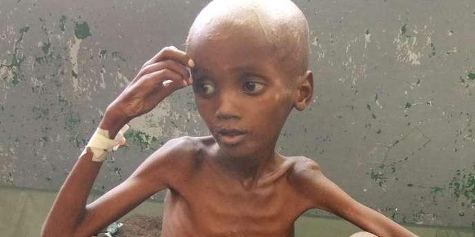 Parmi les 26 pays les plus affectés par la faim (sur un total de 122 pays pour lequel l'indice a été calculé), les quatre qui présentent un indice
