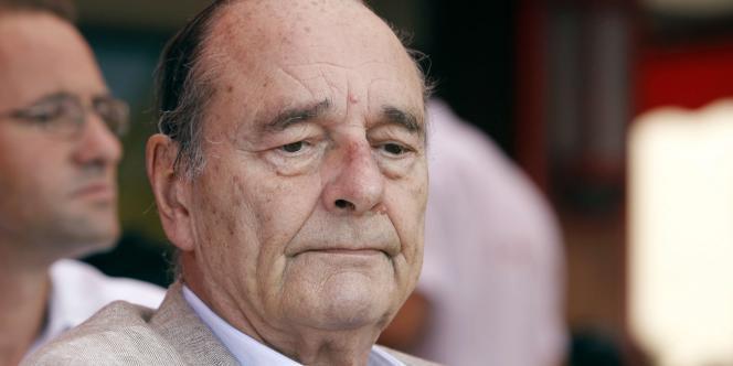 Jacques Chirac, en août 2011.
