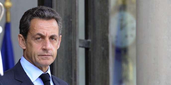 Nicolas Sarkozy, le 5 septembre 2011 à l'Elysée.