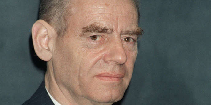 Le professeur Pierre Pellerin en octobre 1986.