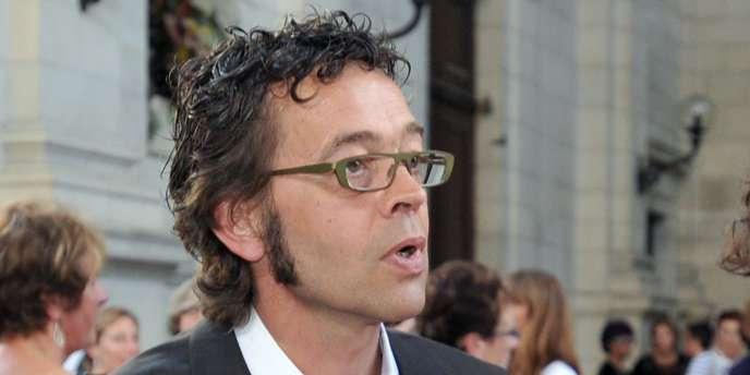 Le Dr Nicolas Bonnemaison à la cour d'appel de Pau, le 6 septembre 2011.