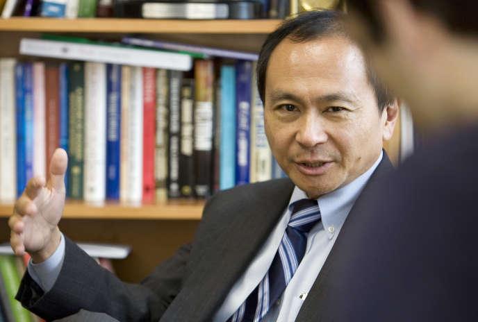 Le professeur Francis Fukuyama, en décembre 2008.
