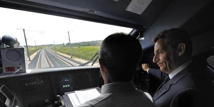 Nicolas Sarkozy, à Belfort, le 8 septembre 2011.