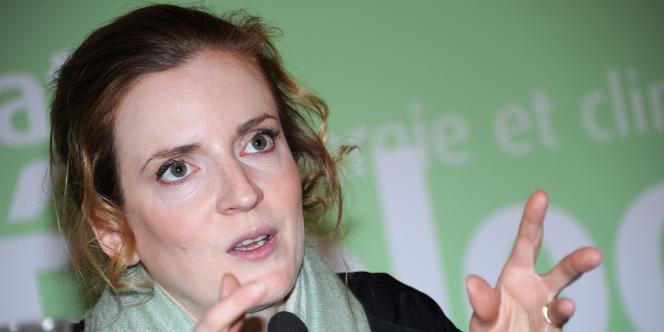 La ministre de l'écologie, Nathalie Kosciusko-Morizet, à Paris en février 2011.
