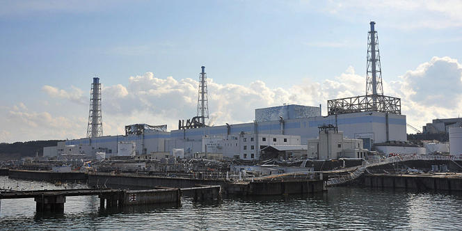 Vue sur la centrale accidentée de Fukushima.
