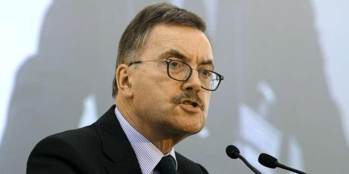 L'ex-économiste en chef de la BCE, Jürgen Stark – ici lors d'une conférence économique à Athènes, le 18 mai 2011.